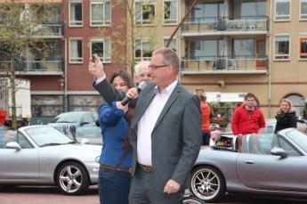wethouder Janssen geeft startschot