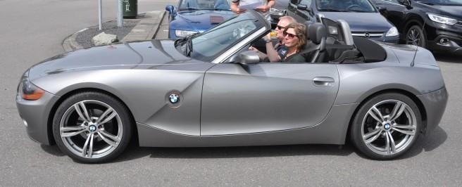 BMW Z4 van Han en Inge